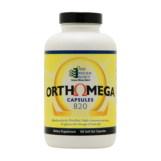 Orthomega capsule bottle