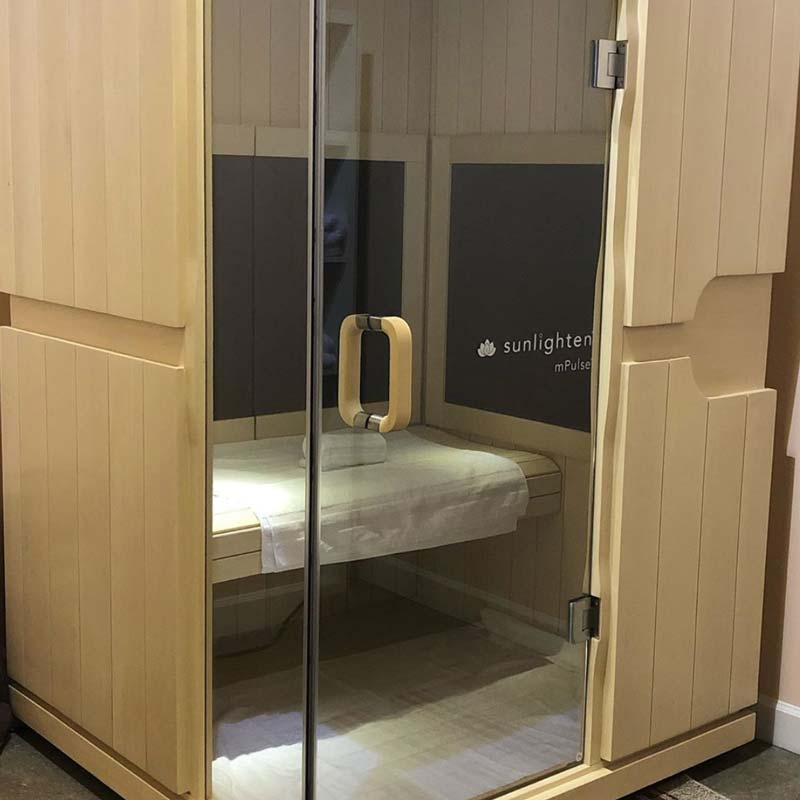 infrared sauna therapy in greenville sc